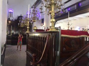 In synagoge Willemstad